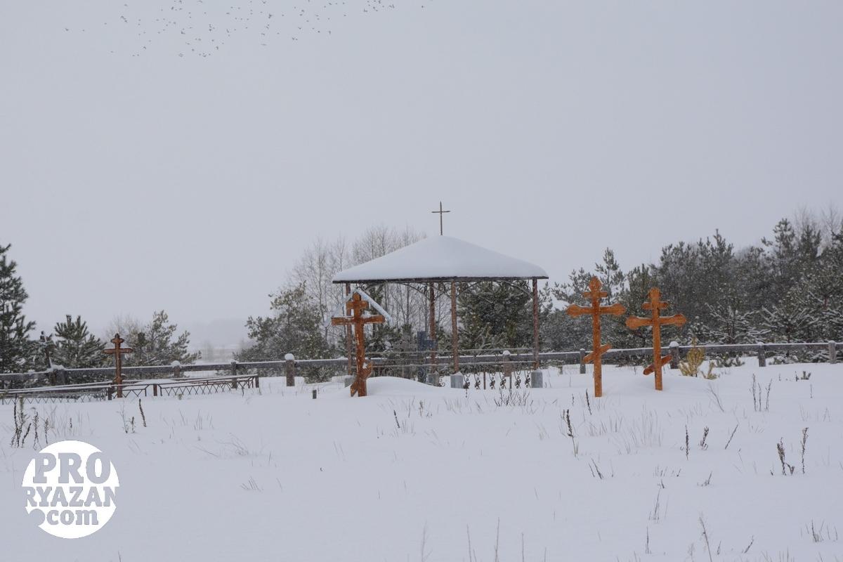 Тимохинское кладбище. Говорят, что адепты ЦПЦ своих людей хоронят отдельно от других