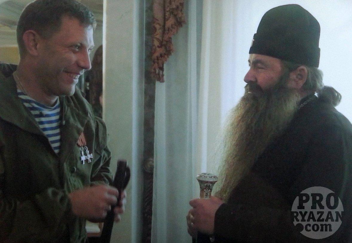 Захарченко и Иванников (справа). Фото предоставлено главой «царской общины»